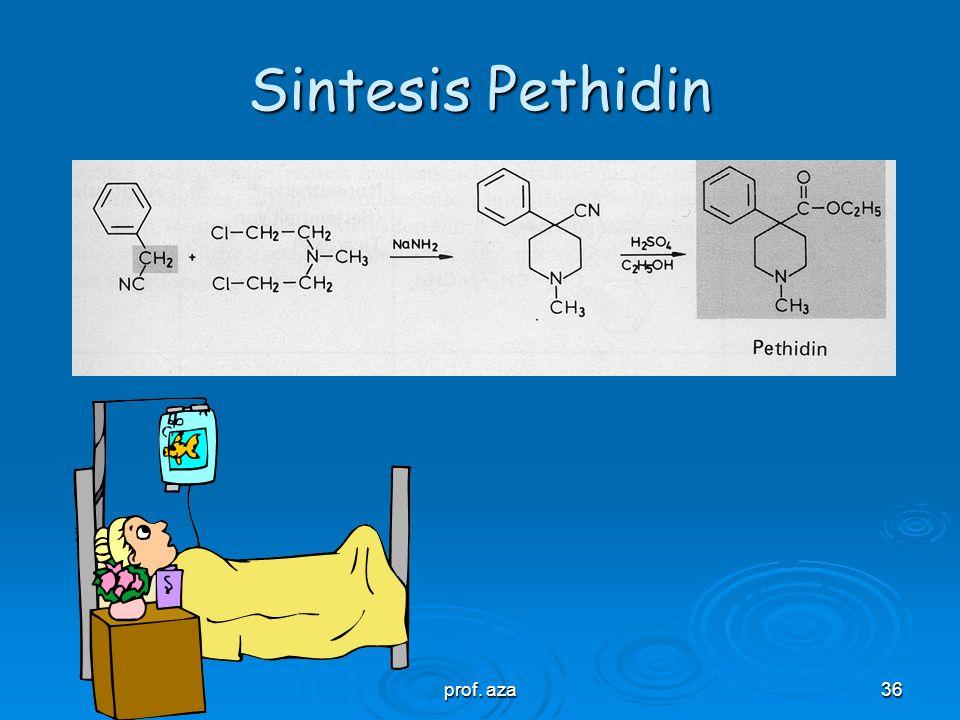 Sintesis Pethidin prof. aza