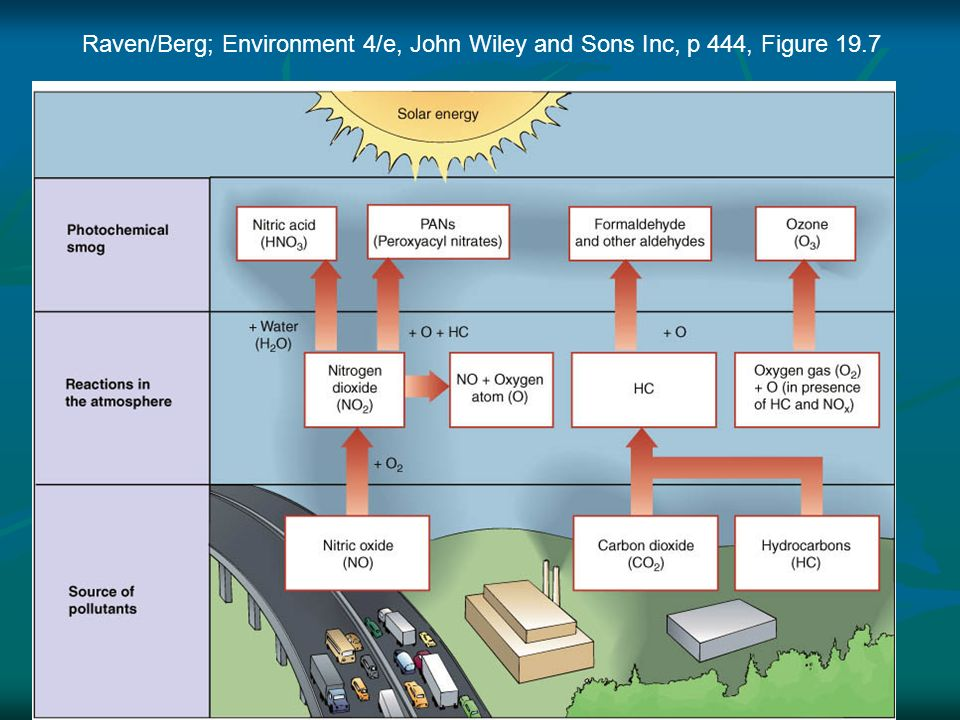 Raven/Berg; Environment 4/e, John Wiley and Sons Inc, p 444, Figure 19