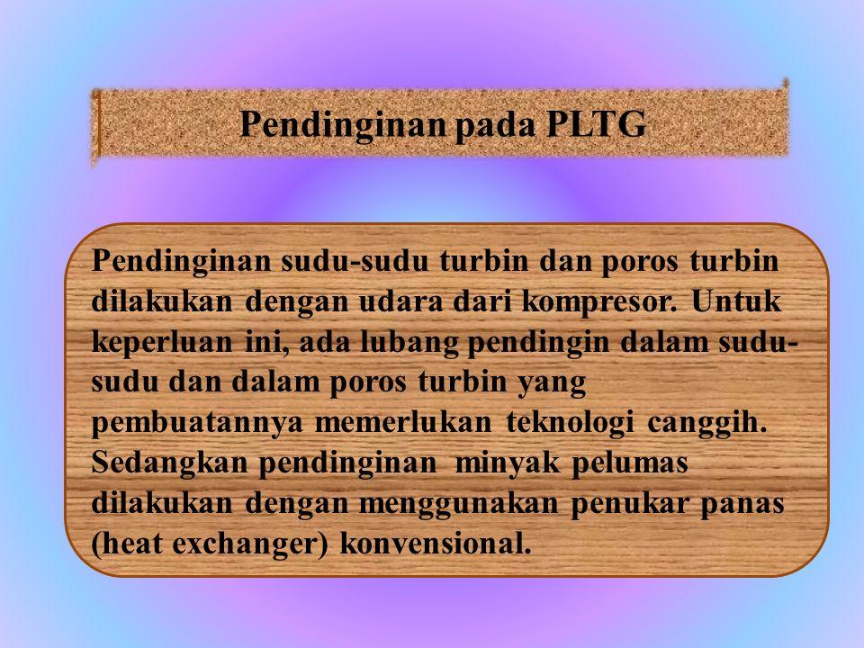 Pendinginan pada PLTG