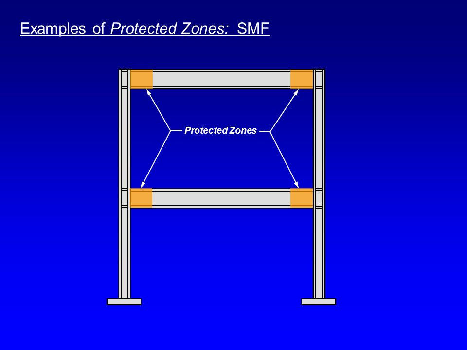 Examples of Protected Zones: SMF