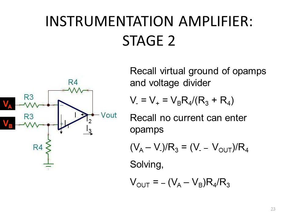 INSTRUMENTATION AMPLIFIER: STAGE 2