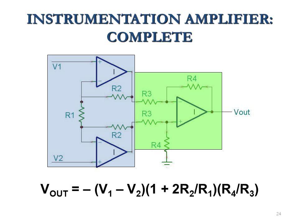 INSTRUMENTATION AMPLIFIER: COMPLETE