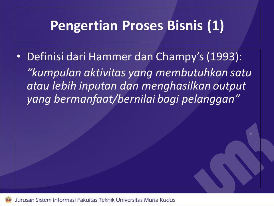 Pengertian Proses Bisnis (1)
