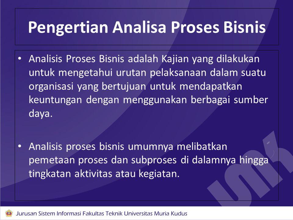 Pengertian Analisa Proses Bisnis