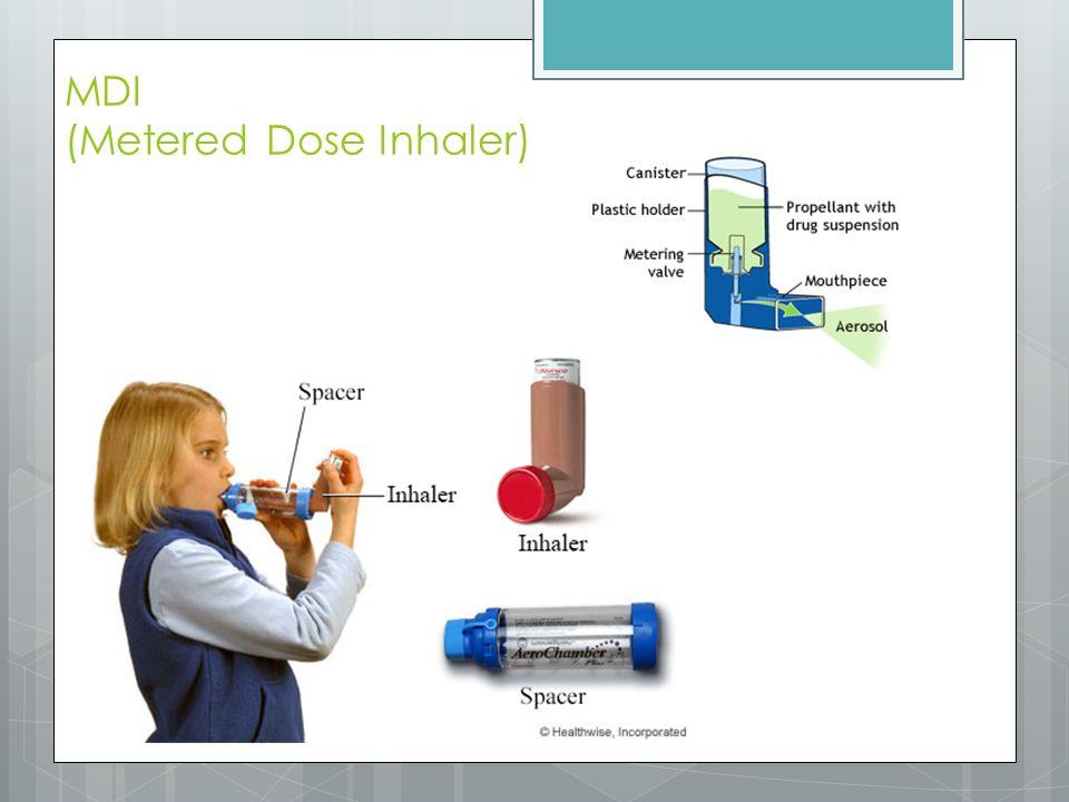MDI (Metered Dose Inhaler)