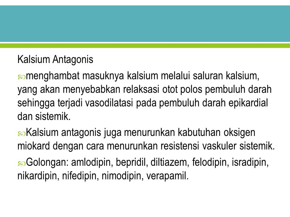 Kalsium Antagonis