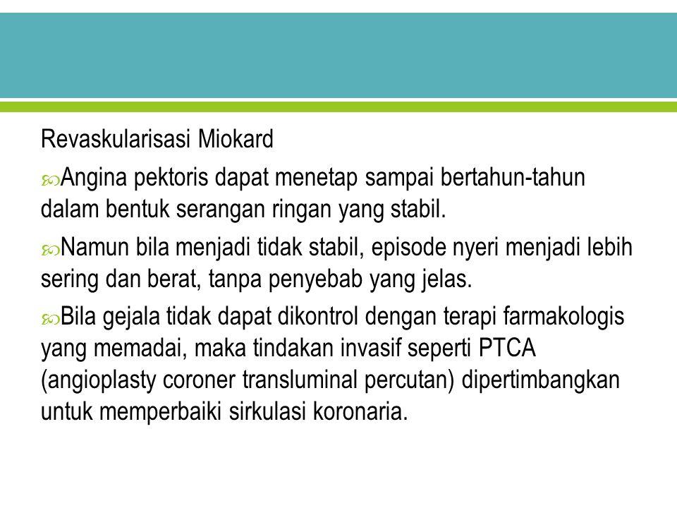 Revaskularisasi Miokard