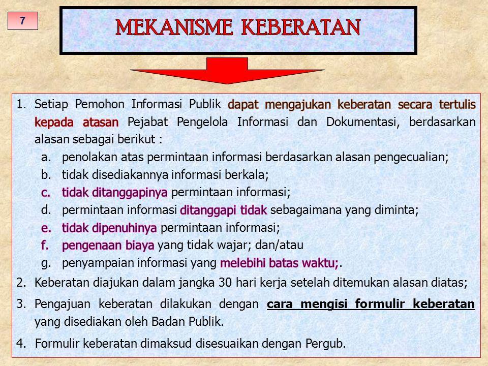 MEKANISME KEBERATAN 7.
