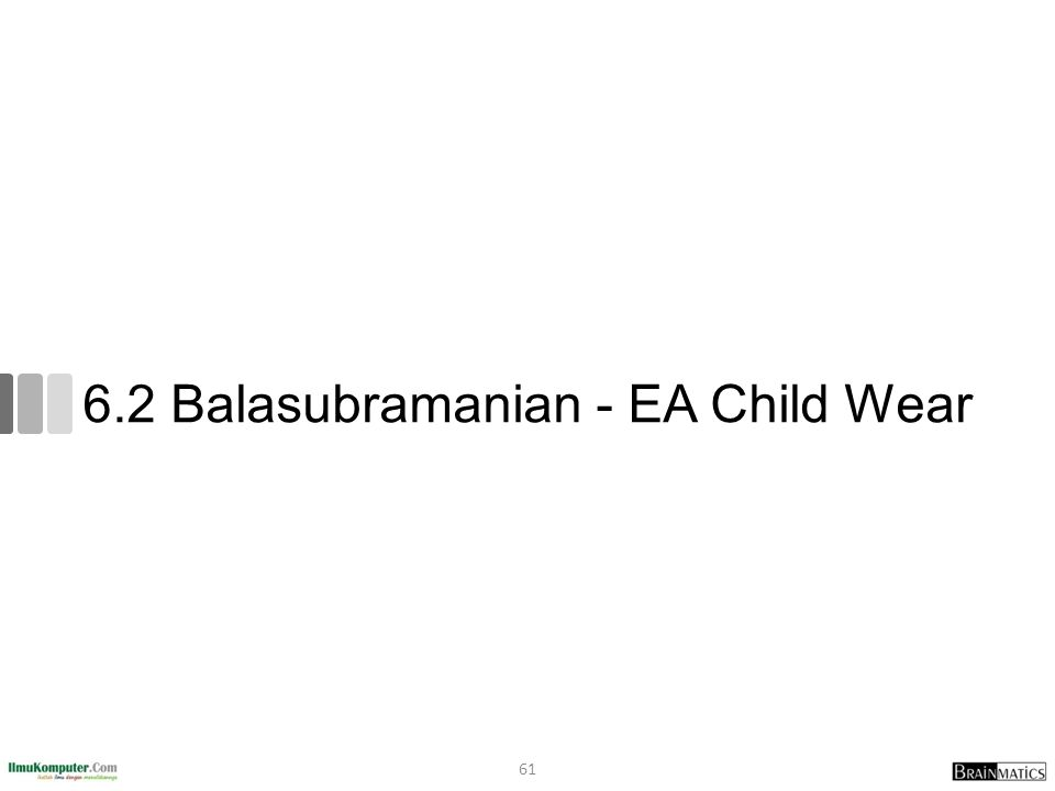6.2 Balasubramanian - EA Child Wear