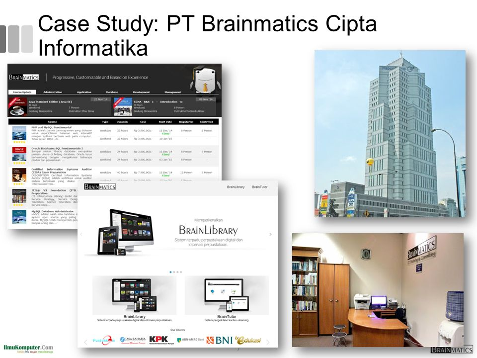 Case Study: PT Brainmatics Cipta Informatika