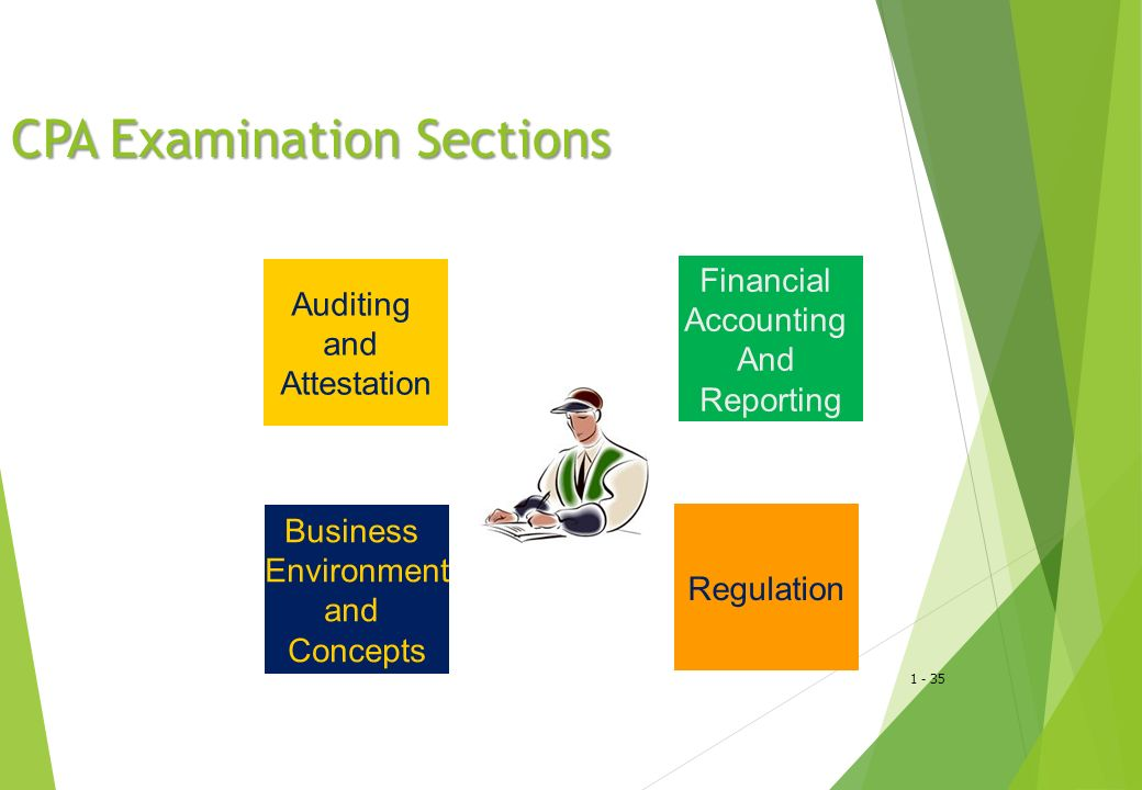 CPA Examination Sections