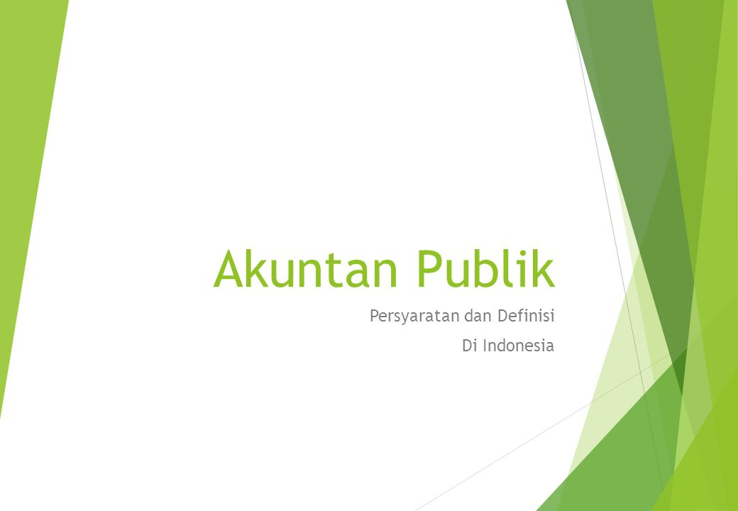 Persyaratan dan Definisi Di Indonesia