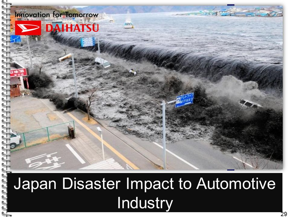 Japan Disaster Impact to Automotive Industry