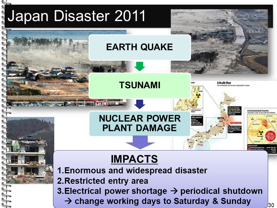 NUCLEAR POWER PLANT DAMAGE