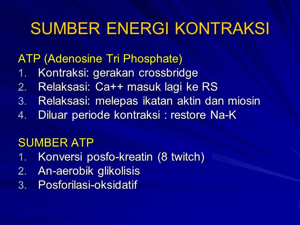 SUMBER ENERGI KONTRAKSI