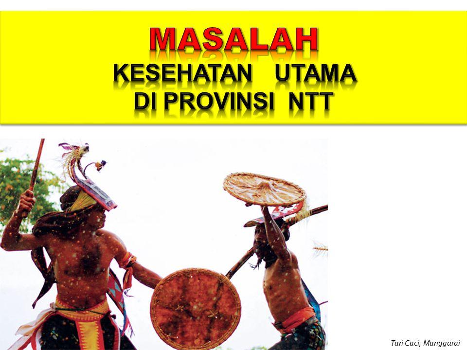 MASALAH KESEHATAN UTAMA DI PROVINSI NTT Tari Caci, Manggarai