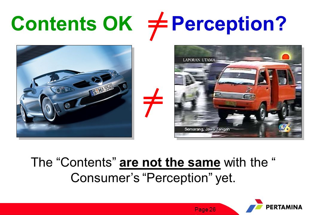 Contents OK Perception