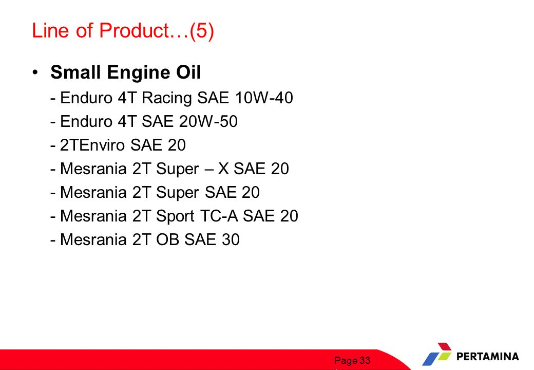 Line of Product…(6) Industrial And Marine Engine Oil