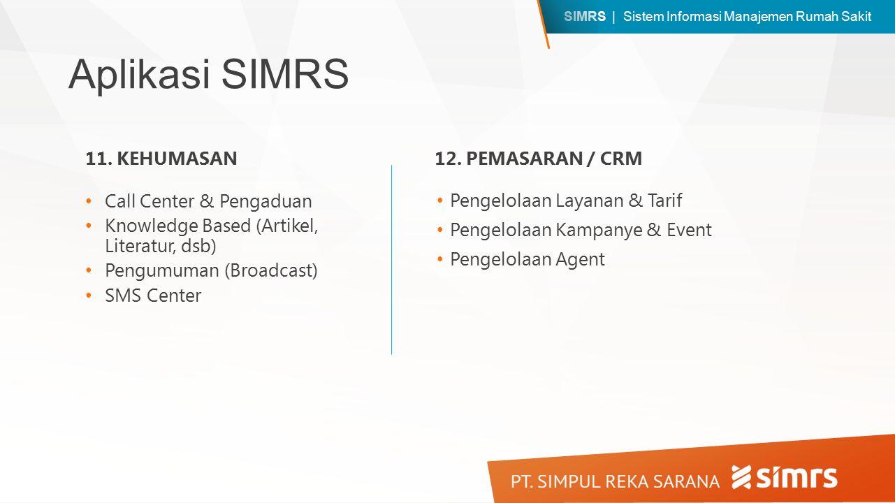 SIMRS - Sistem Informasi Manajemen Rumah Sakit