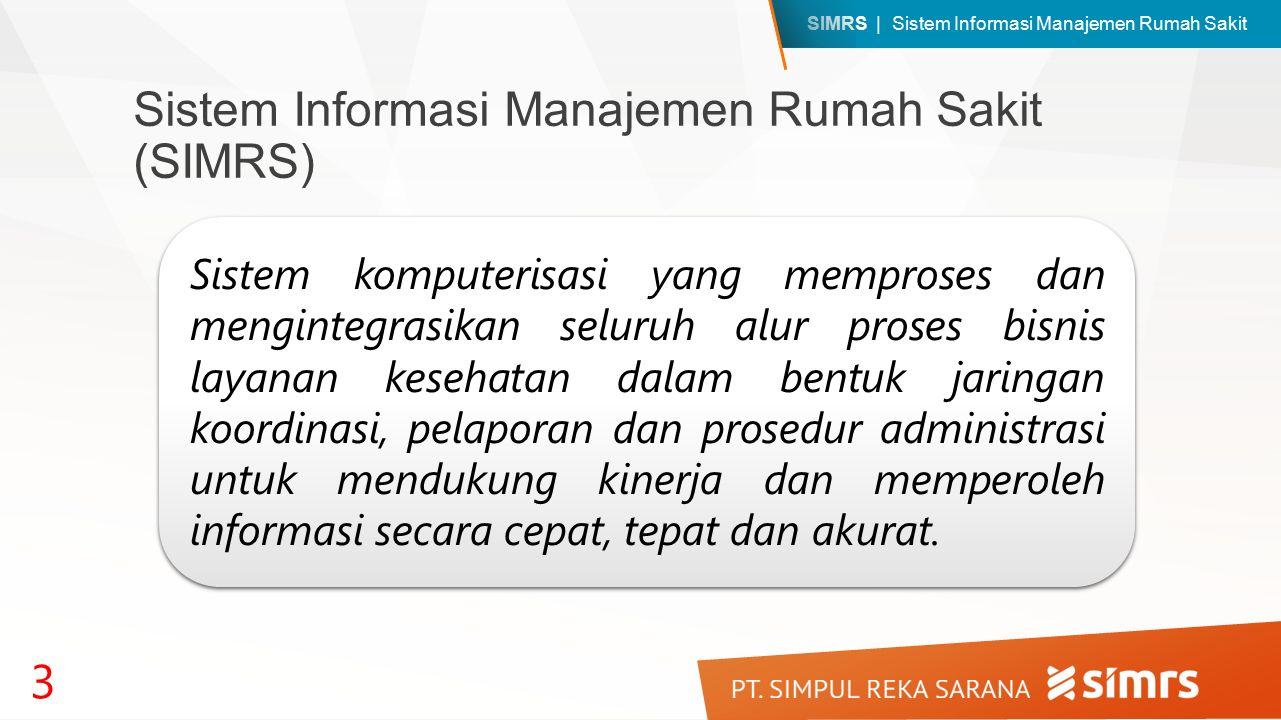 Sistem Informasi Manajemen Rumah Sakit (SIMRS)