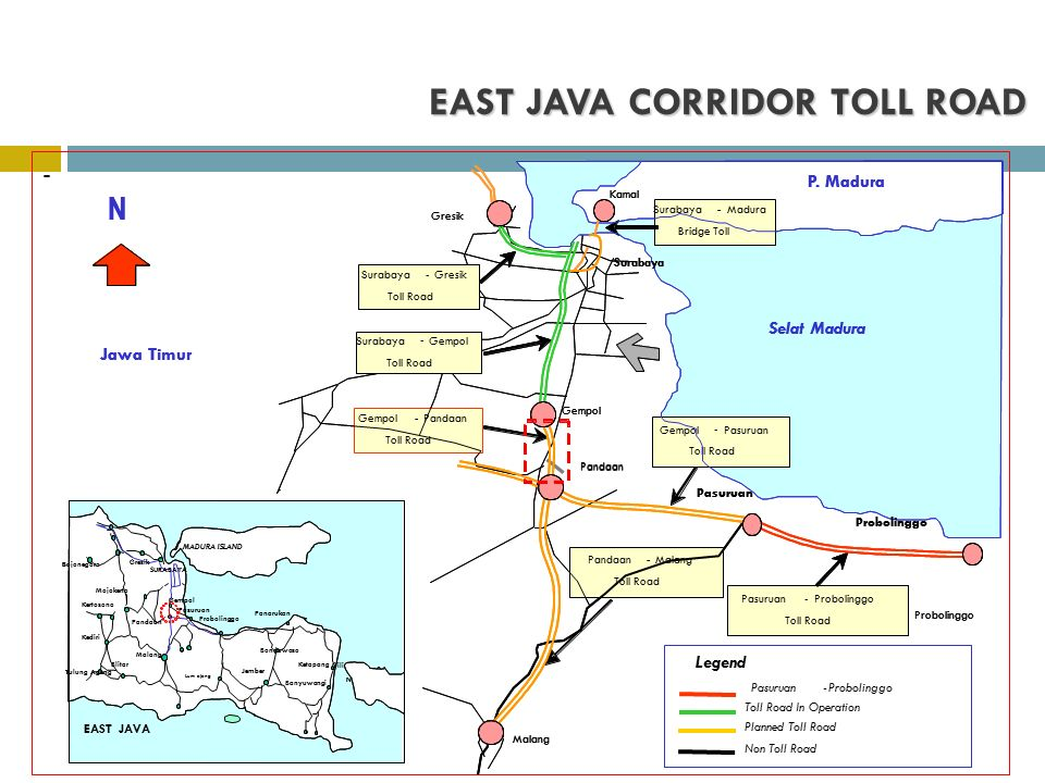 EAST JAVA CORRIDOR TOLL ROAD