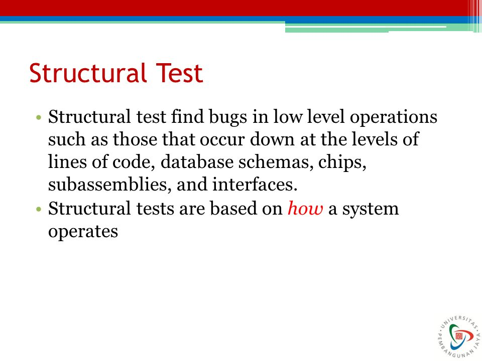 Structural Test