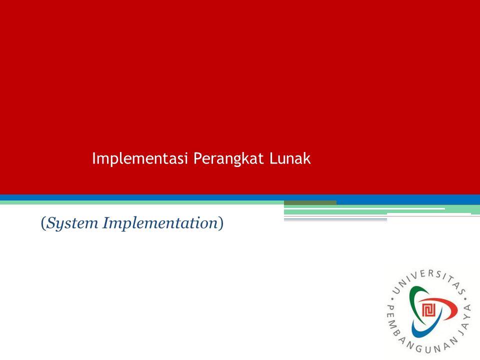Implementasi Perangkat Lunak