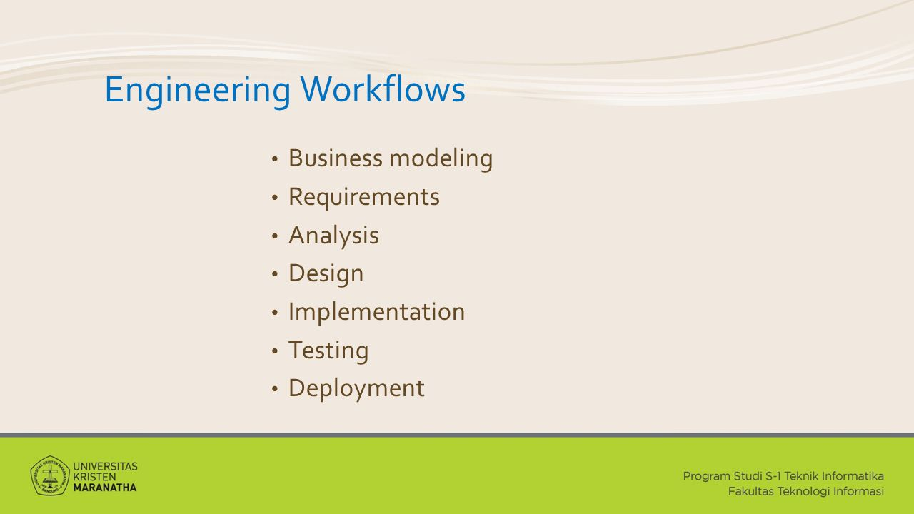 Engineering Workflows