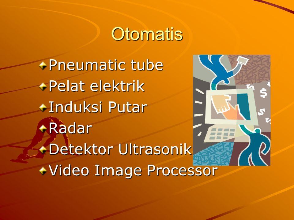 Otomatis Pneumatic tube Pelat elektrik Induksi Putar Radar