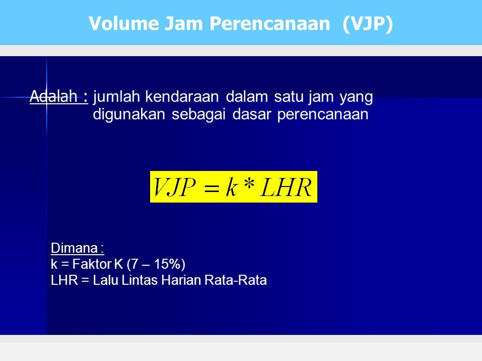 Volume Jam Perencanaan (VJP)