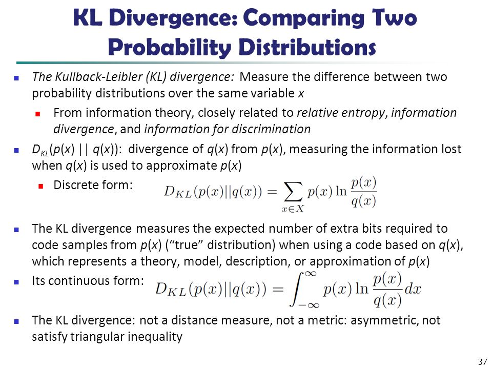 KL Divergence: Comparing Two Probability Distributions
