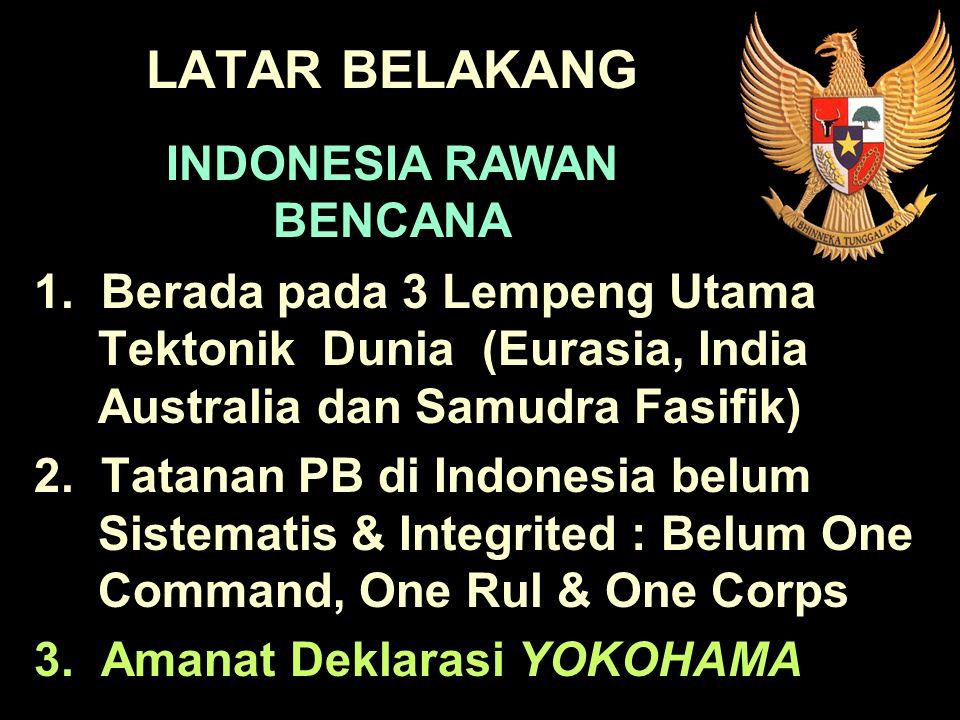 INDONESIA RAWAN BENCANA
