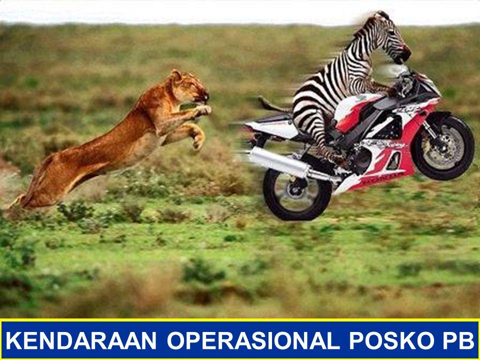 PENDUKUNG OPERASIONAL PB KENDARAAN OPERASIONAL POSKO PB