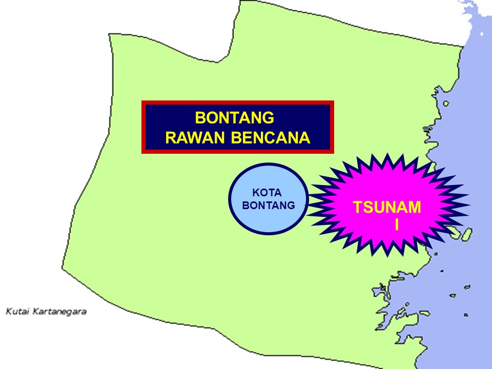 BONTANG RAWAN BENCANA TSUNAMI KOTA BONTANG