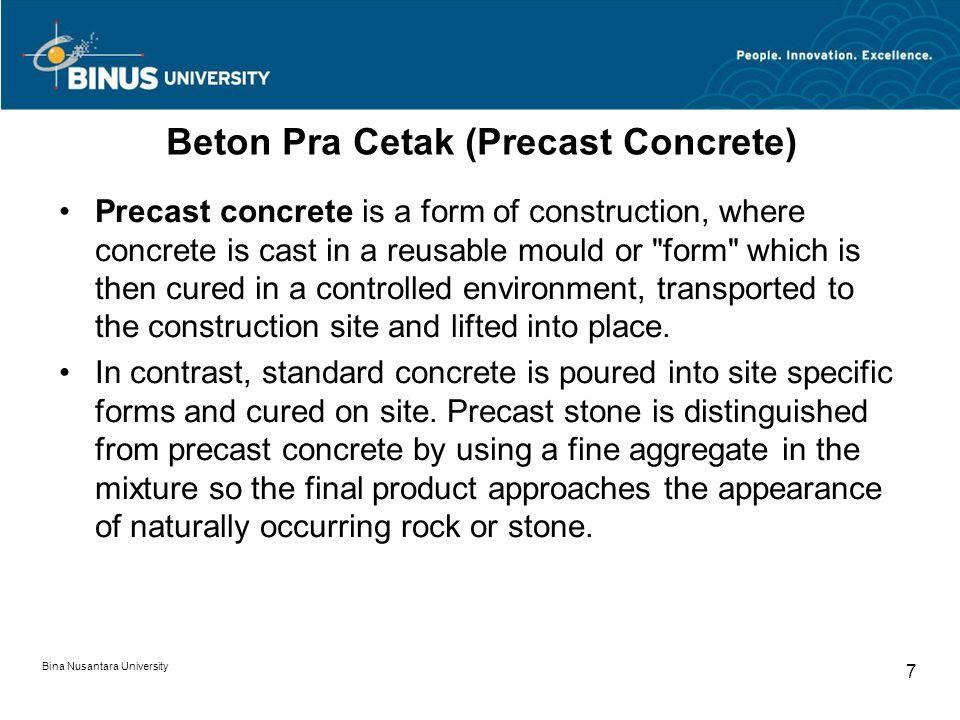 Beton Pra Cetak (Precast Concrete)
