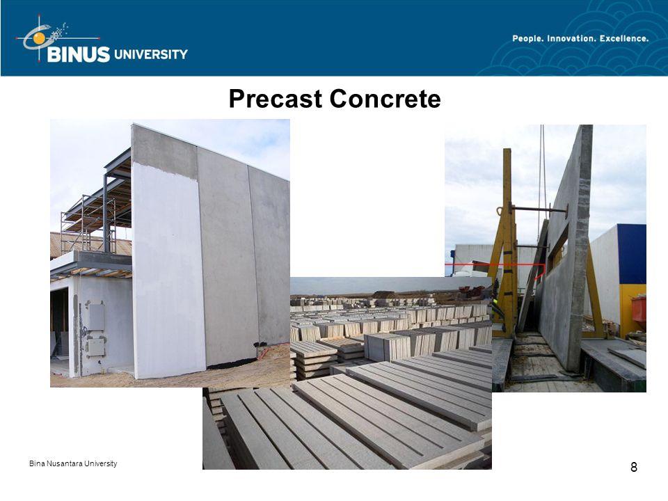 Precast Concrete Bina Nusantara University