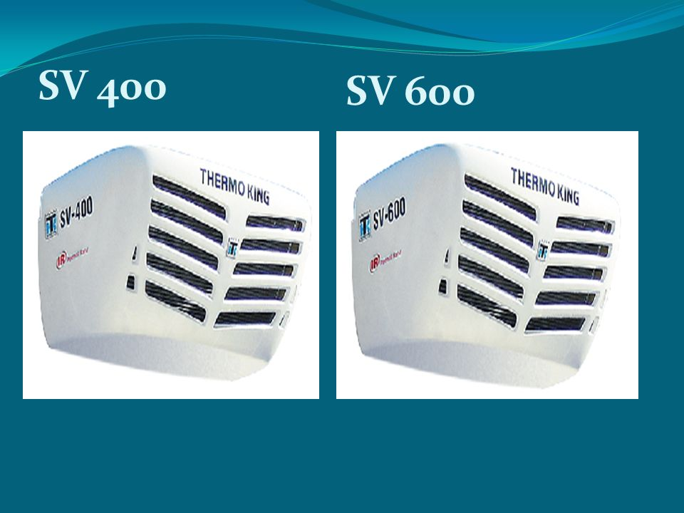 SV 400 SV 600