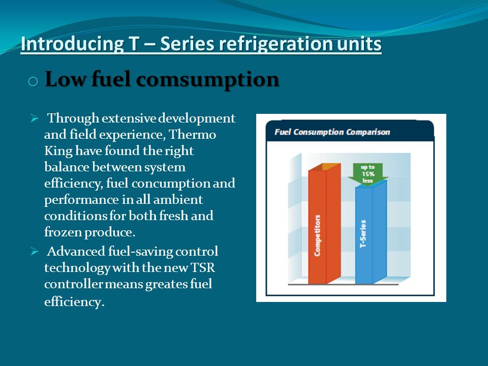 Introducing T – Series refrigeration units