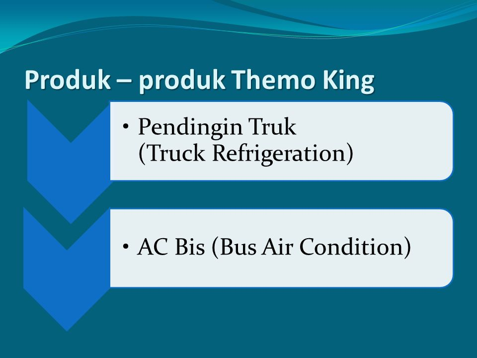 Produk – produk Themo King