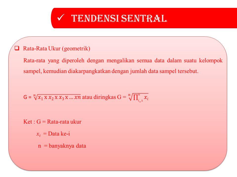 Tendensi sentral