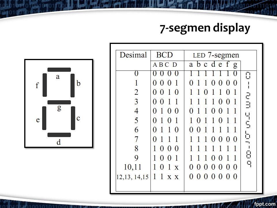 7-segmen display