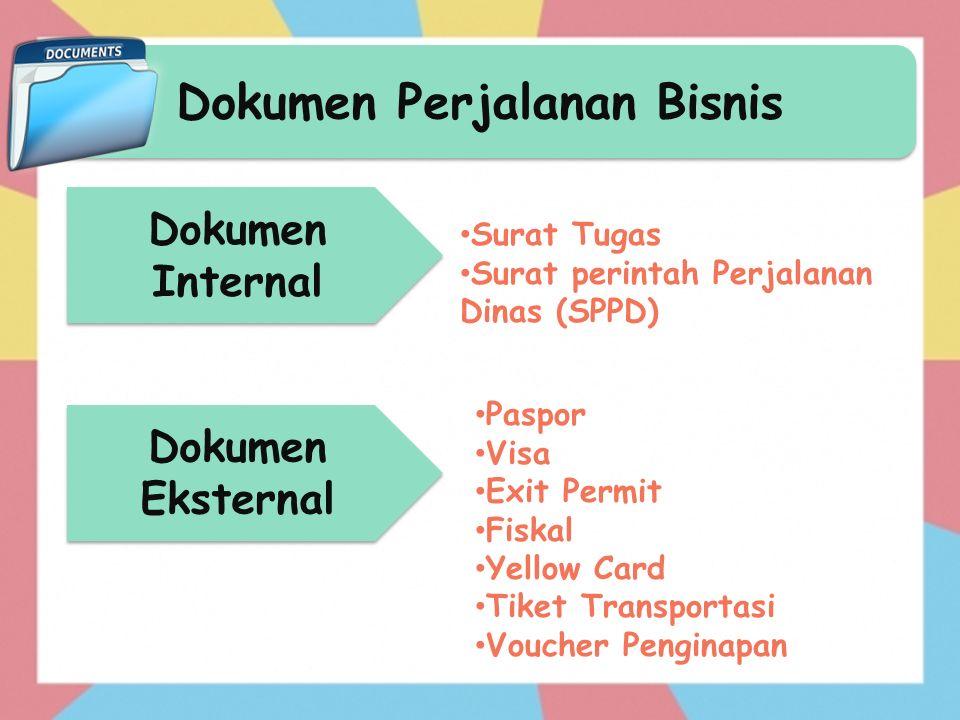 Dokumen Perjalanan Bisnis