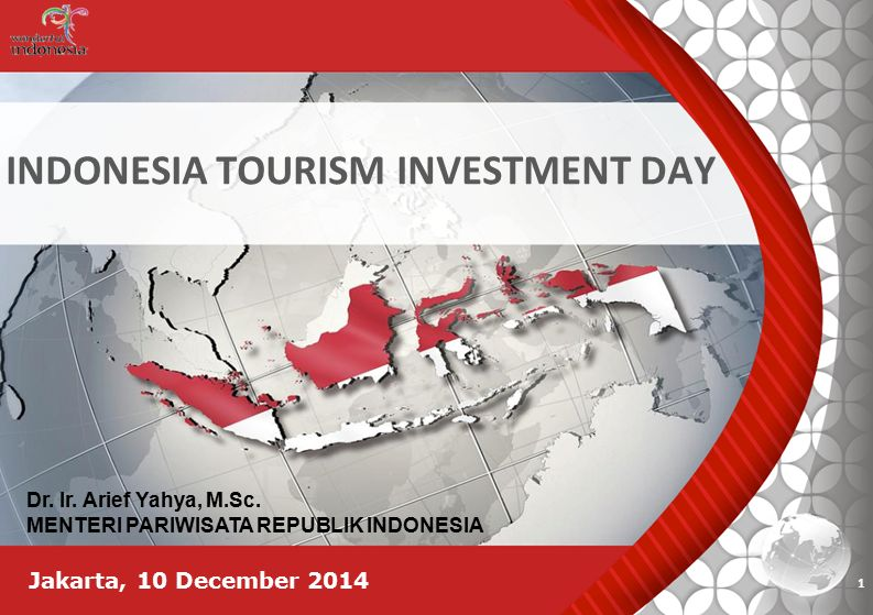 INDONESIA TOURISM INVESTMENT DAY