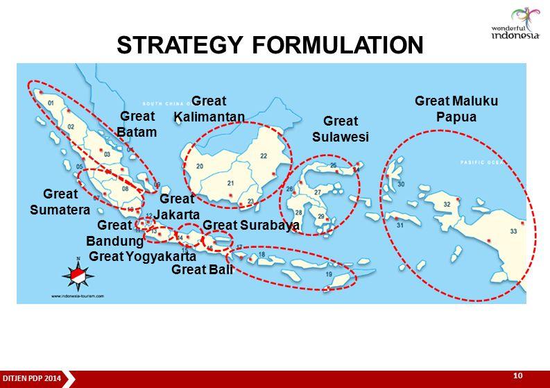 STRATEGY FORMULATION Great Batam Great Jakarta Great Yogyakarta