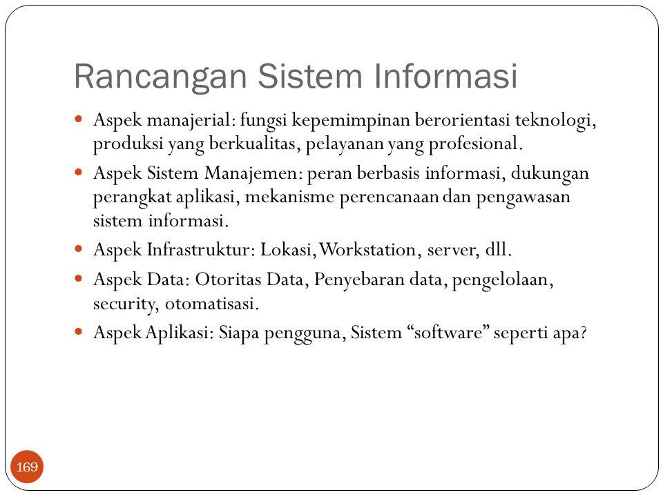 Rancangan Sistem Informasi
