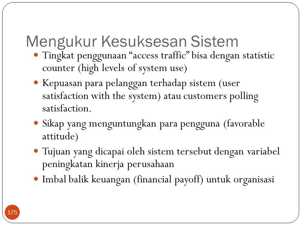 Mengukur Kesuksesan Sistem