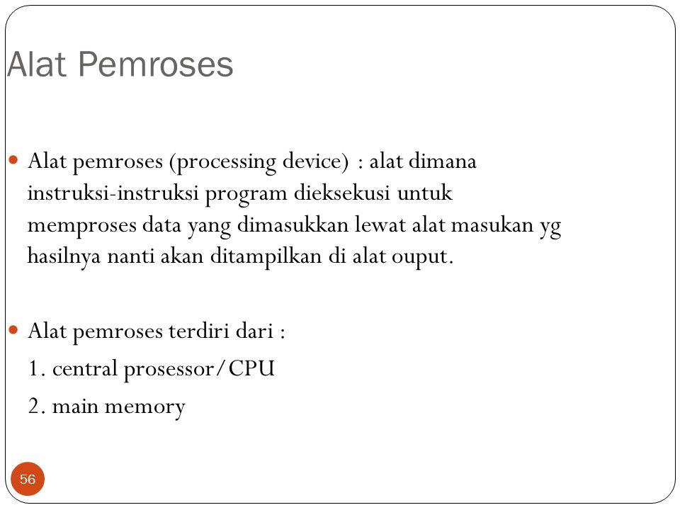 Alat Pemroses