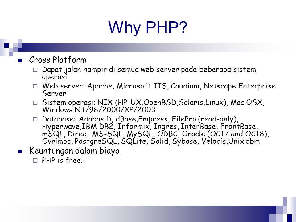 Why PHP Cross Platform Keuntungan dalam biaya