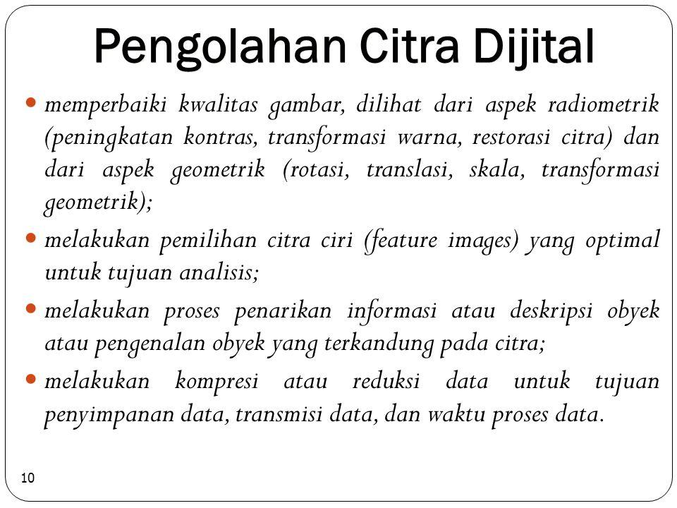 Pengolahan Citra Dijital
