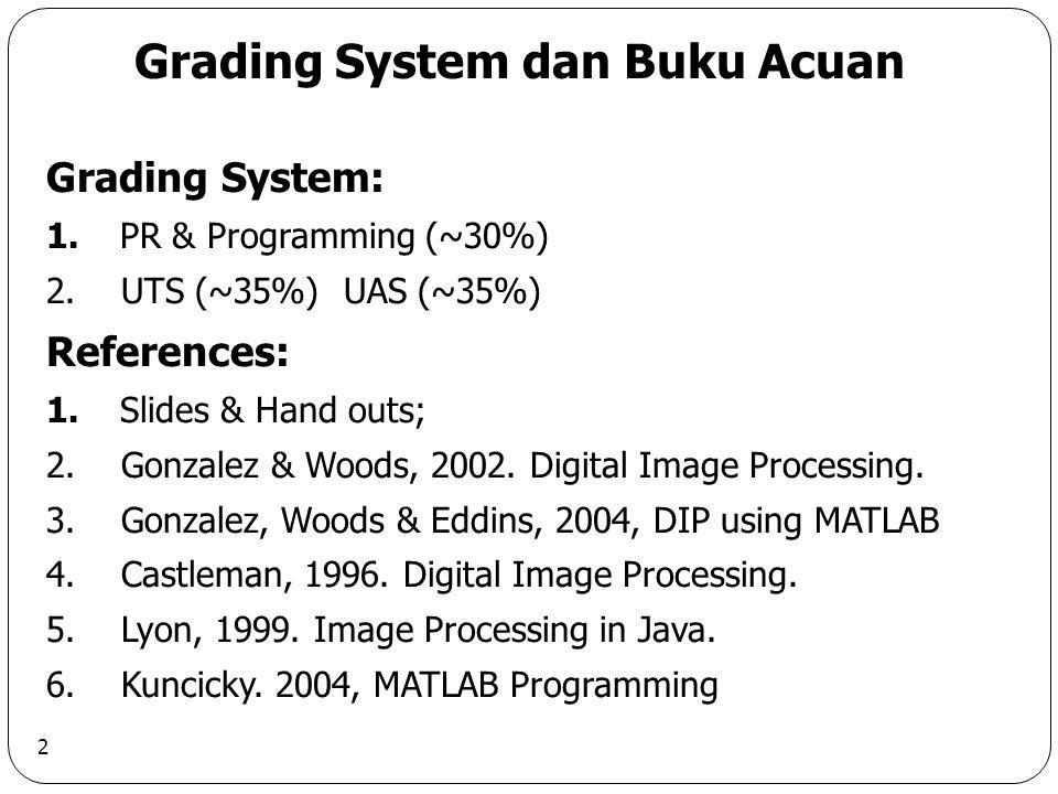 Grading System dan Buku Acuan
